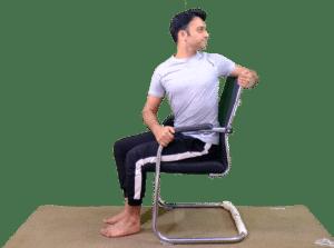 Seated Twist - Yoga with Ankush