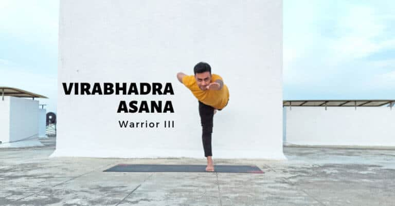 Virabhadrasana-3 (Warrior 3 Pose) - Yoga with Ankush