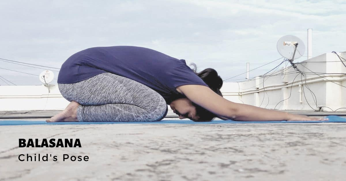 Balasana or Childs Pose - Yoga with Ankush