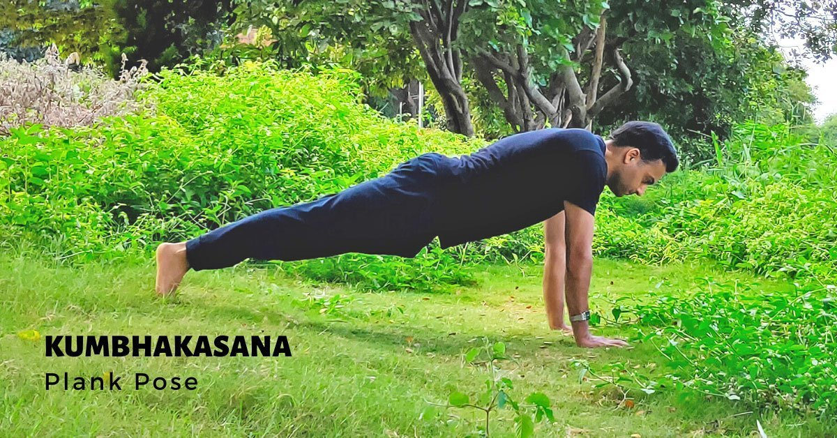 Kumbhakasana - Plank Pose - Yoga with Ankush