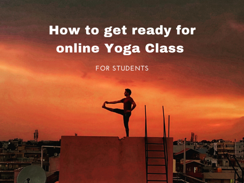 How to get ready for online Yoga Class for students