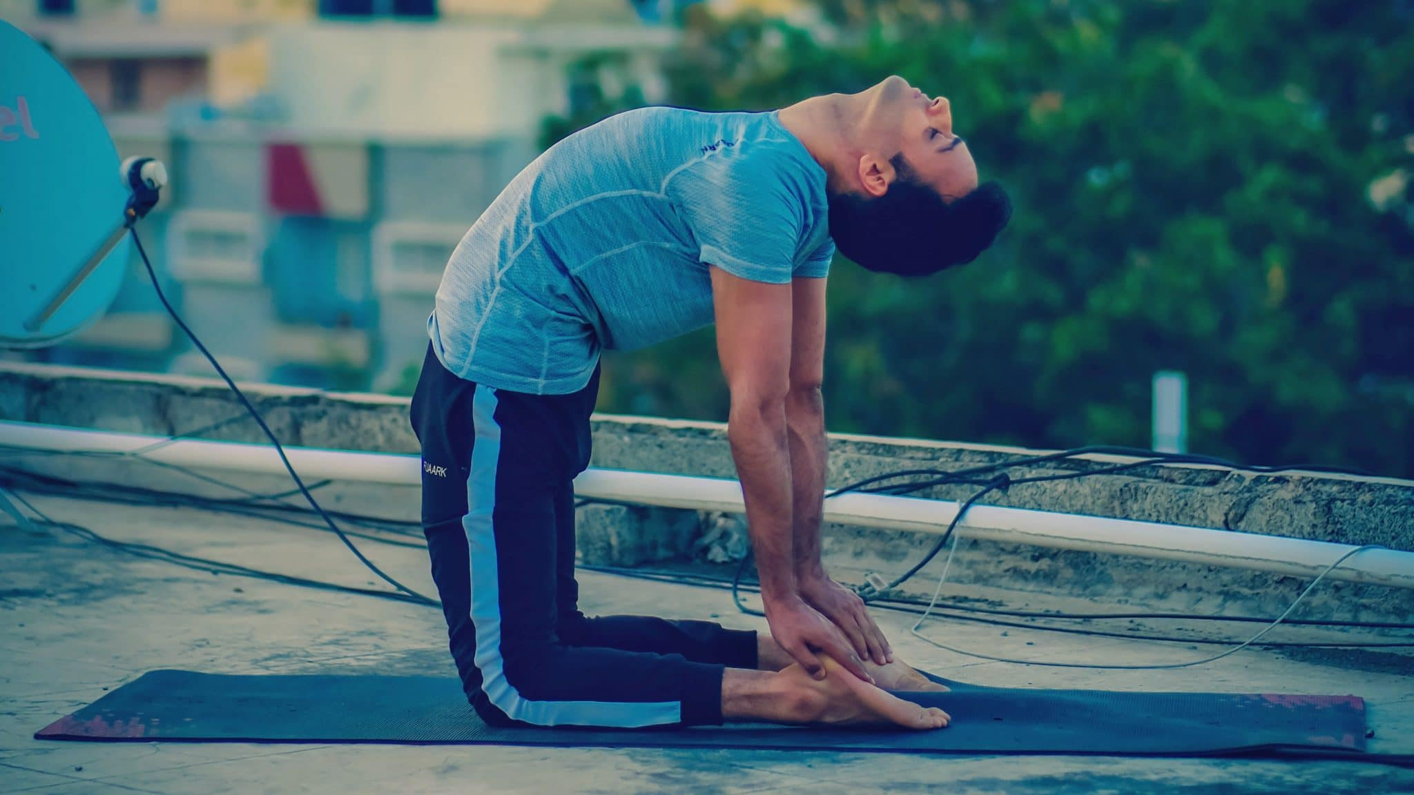 Ustrasana - Yoga for back pain relief