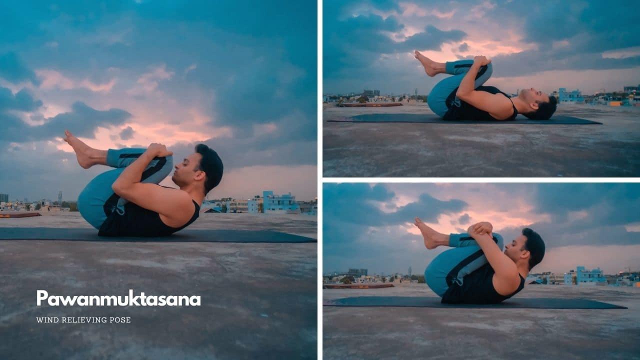 Pawanmuktasana or Wind Relieving Pose